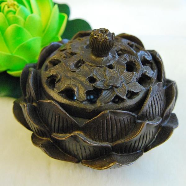 Lotus Bronze Incense Burner