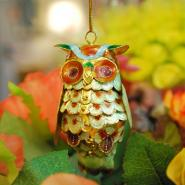 Hanging Mother Owl