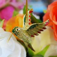 Hanging Hummingbird Wings Up